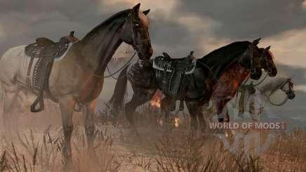 chevaux dans RDR 2