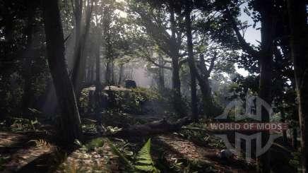 Black bones forest dans Red Dead Online
