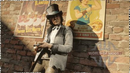La veste Benbow et le chapeau tuyau de poêle bas