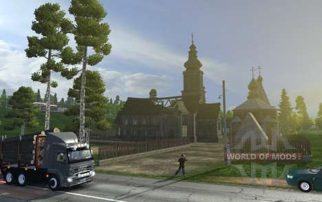 Euro Truck Simulator 2 va jeter un oeil à la Russie