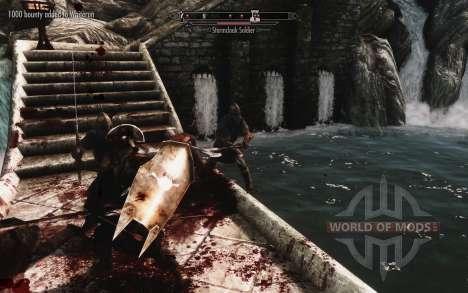 Un ensemble d'armures et d'armes de l'Uruk-Hai pour Skyrim sixième écran