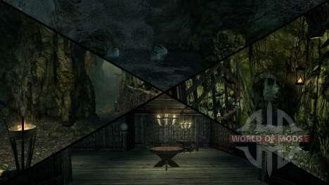 Manoir sinistre pour Skyrim cinquième écran