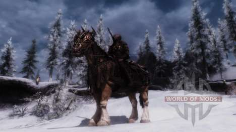 Rüstung für Pferde für Skyrim zweiten Screenshot