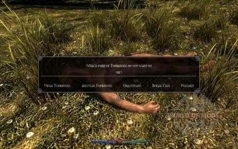 Nettoyage de cadavres pour Skyrim onzième écran