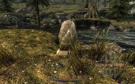 Nettoyage de cadavres pour le quatrième Skyrim écran