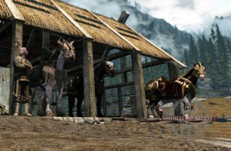 Rüstung für Pferde für Skyrim fünften Screenshot