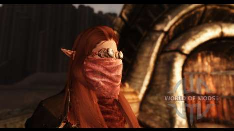 Masques de beauté pour Skyrim sixième écran