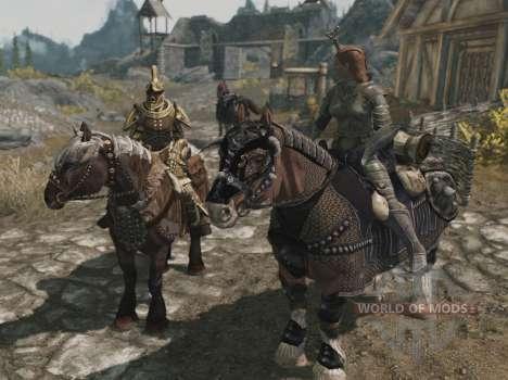 Rüstung für Pferde für Skyrim elften Screenshot