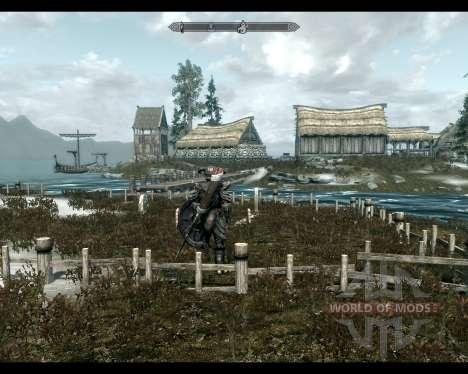 Terres de High Rock pour le troisième écran Skyrim
