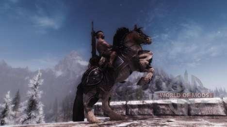 Rüstung für Pferde für Skyrim sechsten Screenshot