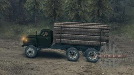 GAZ-52 geändert für Spin Tires