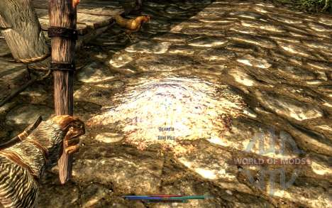 Nettoyage de cadavres pour le troisième écran Skyrim