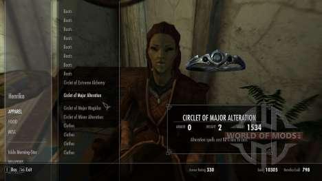 Händler Kleidung in Vajtrane für das dritte Skyrim-Screenshot