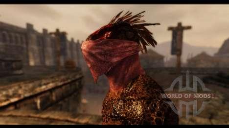 Gesichtsmasken für das dritte Skyrim-Screenshot