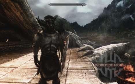 Un ensemble d'armures et d'armes de l'Uruk-Hai pour Skyrim deuxième écran