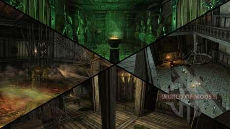 Manoir sinistre pour Skyrim septième écran
