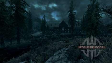 Unheimliches Herrenhaus für Skyrim