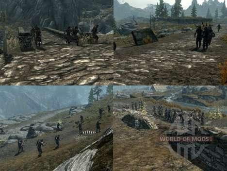 Krieg auf dem Skyrim mehr für Skyrim fünften Screenshot