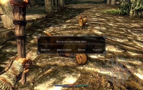 Reinigung von Leichen für Skyrim siebten Screenshot