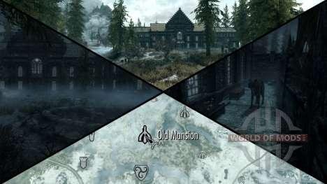 Unheimliches Herrenhaus für Skyrim sechsten Screenshot