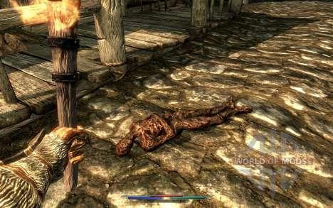 Reinigung von Leichen für Skyrim