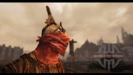 Masques de beauté pour le quatrième Skyrim écran