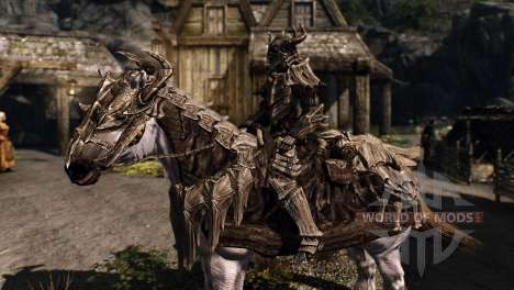 Rüstung für Pferde für das vierte Skyrim-Screenshot