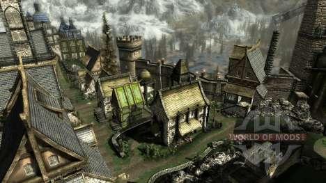 Une petite maison en Solit′ûde pour le quatrième Skyrim écran