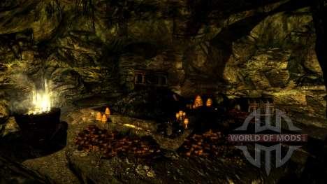 Une petite maison en Solit′ûde pour le troisième écran Skyrim