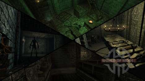 Manoir sinistre pour le quatrième Skyrim écran