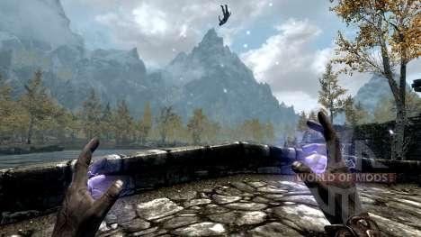 Der Blitz-Kaiser für das dritte Skyrim-Screenshot