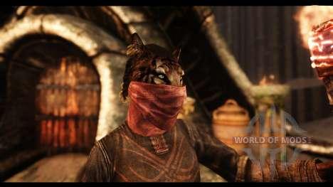 Masques de beauté pour Skyrim deuxième écran