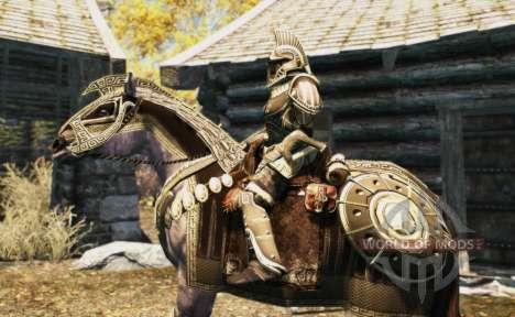 Rüstung für Pferde für Skyrim achten Screenshot