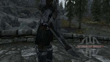 Nordskij Schwert mit Scheide für Skyrim zweiten Screenshot