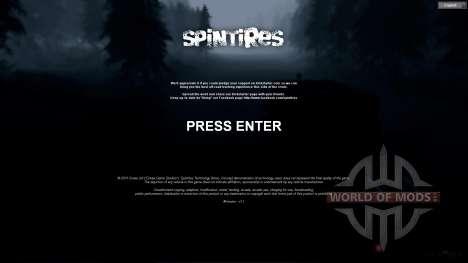 SpinTires Tech Demo v1.1 (13 mai) 2013 RUS et EN