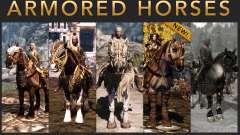 Armures pour chevaux