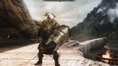 Eine Reihe von Rüstungen und Waffen von den Uruk