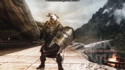 Eine Reihe von Rüstungen und Waffen von den Uruk-Hai für Skyrim