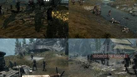 Plus de guerre sur le Skyrim pour Skyrim