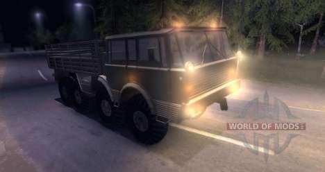 Tatra 813 8x8 pour Spin Tires