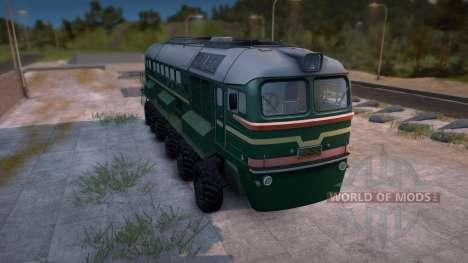 M62 Rädern Zug v1. 0 für Spin Tires