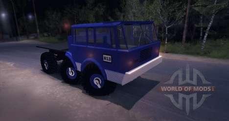 Tatra 813 6X6 TRUCKTRIAL für Spin Tires