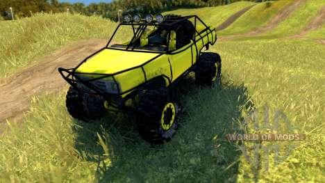 Chevy Blazer Rock Crawler pour Spin Tires