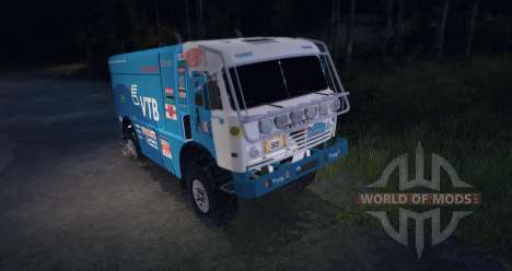 KAMAZ MASTER 4911 Dakar Rally für Spin Tires