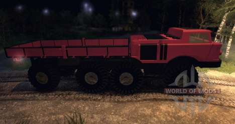ZIL 135 pour Spin Tires