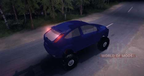 Ford Focus 2 OffRoad für Spin Tires