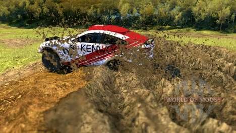Mitsubishi Lancer Dakar pour Spin Tires