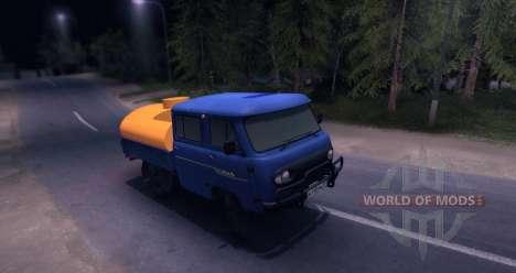 UAZ 39094 für Spin Tires