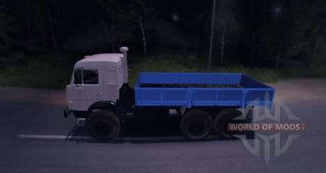 KAMAZ-43101 pour Spin Tires