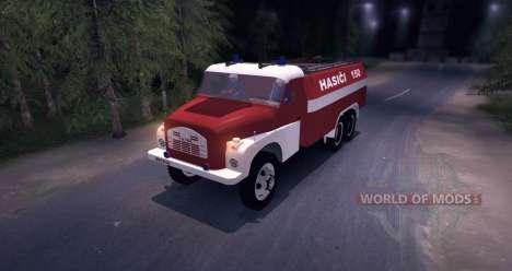 Tatra 148 Firetruck pour Spin Tires